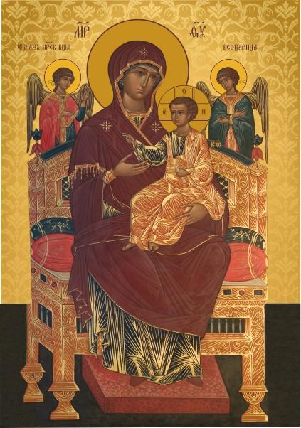 Ікона православна Святий Всецариця Богородиця