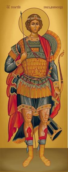 Ікона з росписом Святий Георгій
