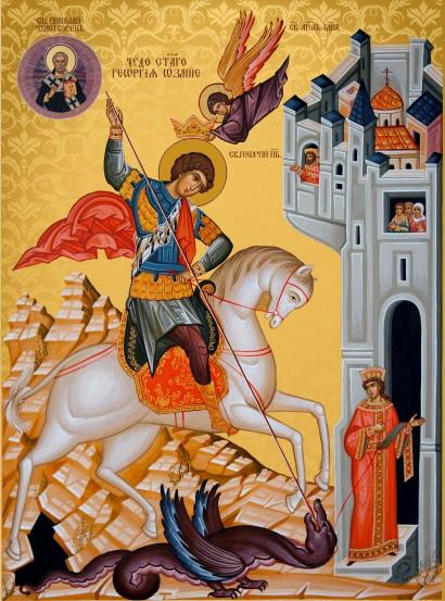 Ікона на замовлення Святий Георгій