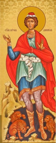 Ікона на дереві Святий Данило  пророк