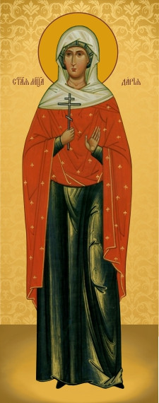 Ікона з росписом Свята Дарія