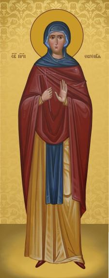 Ікона православна Свята Євгенія  Римська