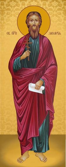 Ікона ручної роботи Святий Захарій