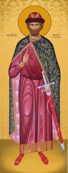 Ікона на дереві Святий Ігор