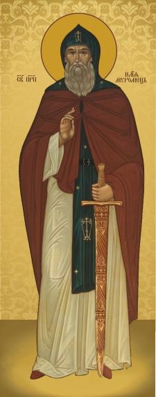 Ікона на замовлення Святий Ілья Муромець