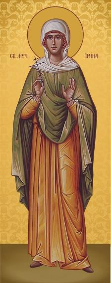 Ікона церковна Свята Ірина  мучениця