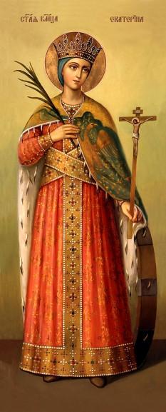 Ікона ручної роботи Свята Катерина