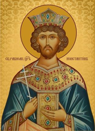 Ікона на дарунок Святий Костянтин