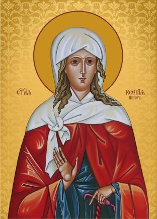 Ікона на дереві Свята Ксения