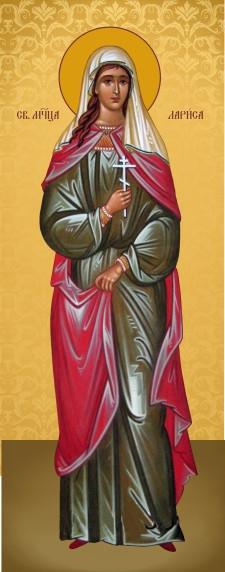 Ікона ручної роботи Свята Лариса