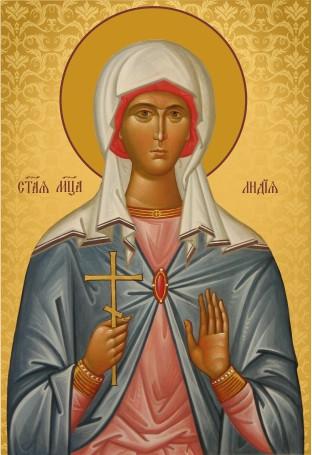 Ікона подарункова Свята Лідія