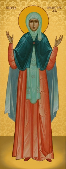 Ікона для дому Свята Лія  23х11см