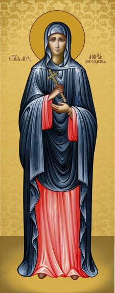 Ікона з росписом Свята Марія  Персидська