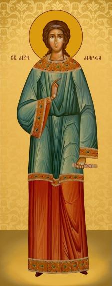 Ікона православна Свята Марфа