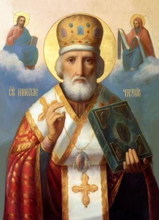 Ікона ручної роботи Святий Миколай