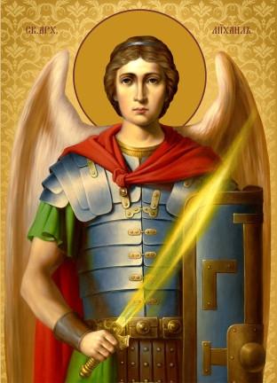 Ікона ручної роботи Святий Михаїл
