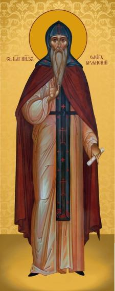 Ікона церковна Святий Олег  Брянський