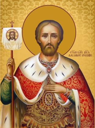 Ікона на дарунок Святий Олександр  Невський