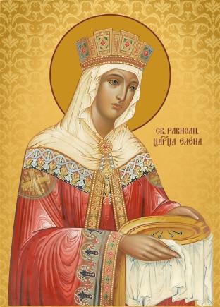 Ікона ручної роботи Свята Олена