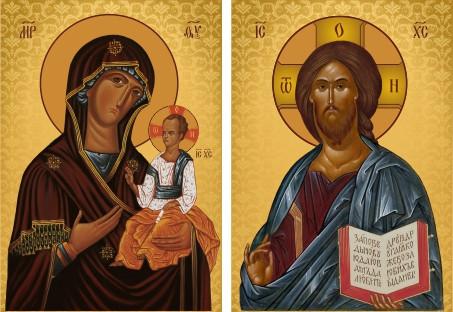 Ікона на дарунок Свята Пара вінчальна