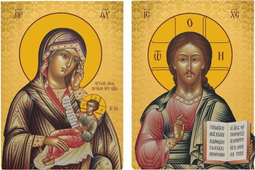 Ікона церковна Пара вінчальна на замовлення