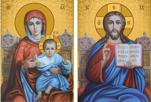 Ікона православна Пара вінчальна на замовлення