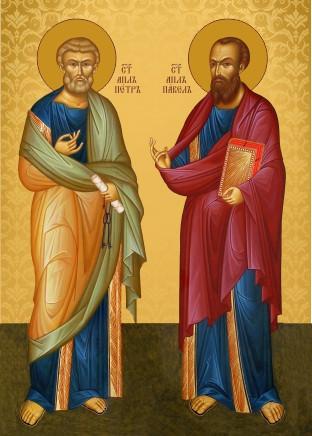 Ікона для дому Святі Петро та Павло