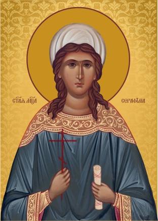 Ікона на замовлення Свята Серафима