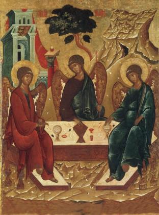Ікона для дому Свята Трійця