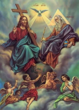 Ікона на дарунок Свята Трійця