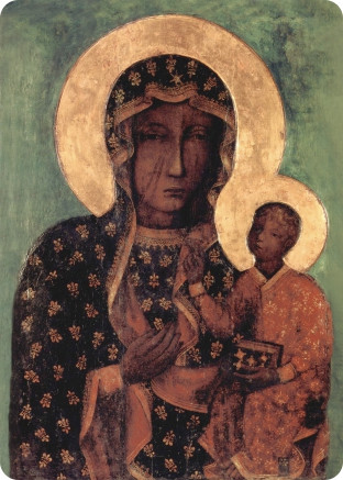 Ікона церковна Ченстоховська