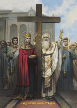 Ікона подарункова Воздвиження  Хреста