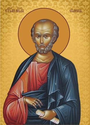 Ікона ручної роботи Святий Симон