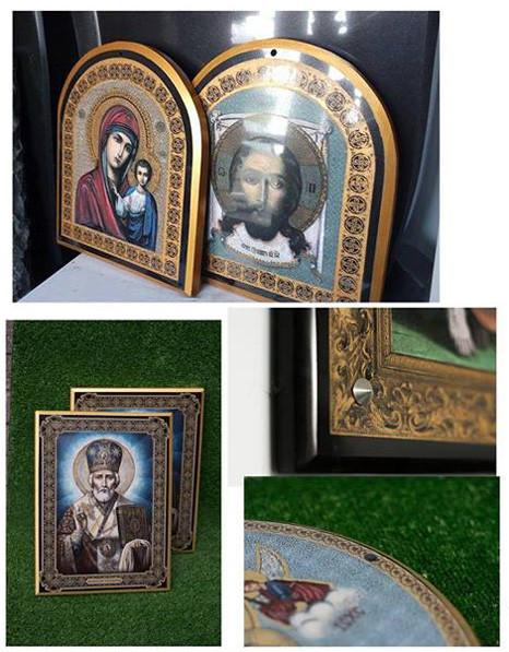 Малые иконы на камне (на заказ)