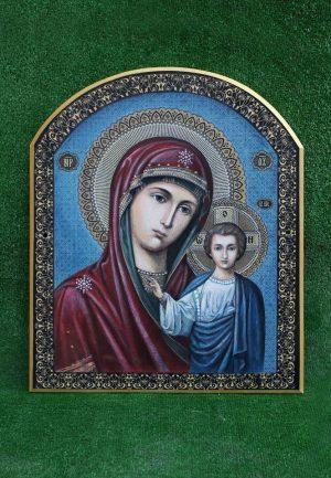 Икона Пресвятой Богородиці малая на камне