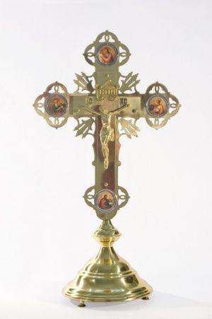 Купить напрестольный крест латунный