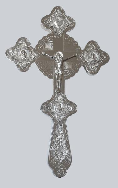 Напрестольный крест фигурный (никель)