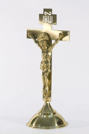 Напрестольный малый крест с распятием