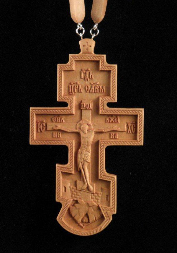 Купить Крест иерейский 110х56мм из грушы