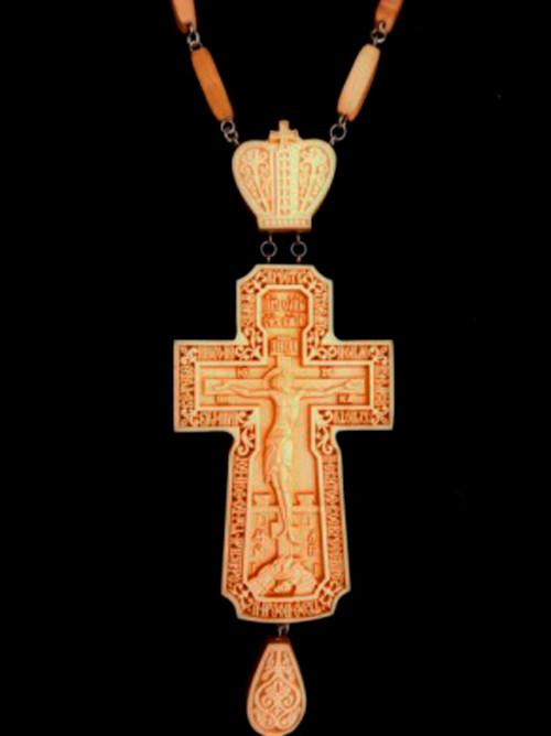 Крест наградной 120х67мм из груши
