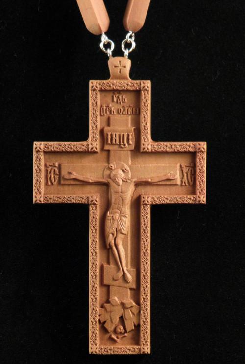 Крест протоиерейский 120х65мм из груши