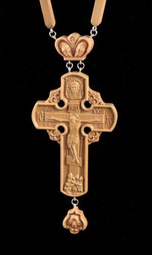 Купить Крест наградной 100х63мм из груши