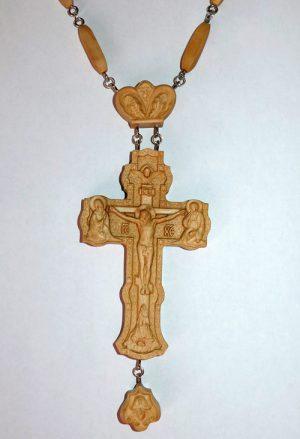 Заказать Крест наградной 100х62мм из груши