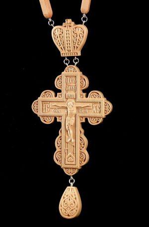 Купить Крест наградной 100х65мм из груши