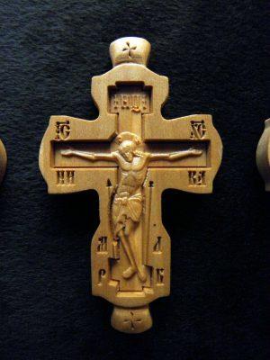 Крест параманный из груши 80х48мм