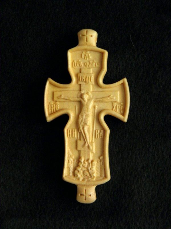 Крест параманный из груши 80х45мм