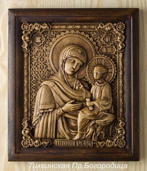 Икона Тихвинская Пресвятая Богородица